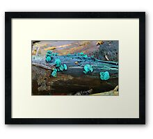 Green Elf Cup. Framed Print