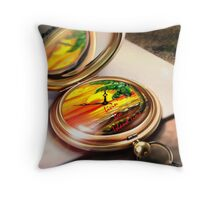 Livin' on Island Time. Throw Pillow