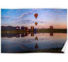 Hot Air Balloon Fiesta Poster