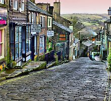 Haworth - HDR by Colin J Williams Photography