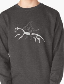 Cern Abbas Giant rides the white horse Pullover