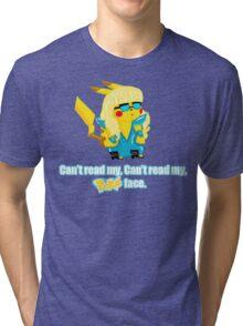 Pokeface Tri-blend T-Shirt