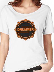 Orange Drummer Women's Relaxed Fit T-Shirt