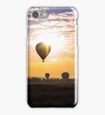 Hot Air Balloon Sunrise iPhone Case/Skin