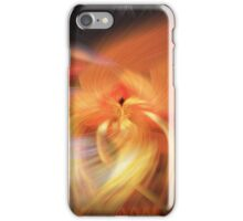 Abstract Candlelight iPhone Case/Skin