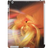 Abstract Candlelight iPad Case/Skin