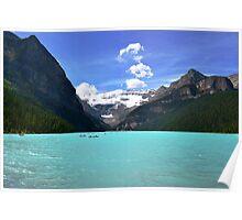 Glacier Boating Poster