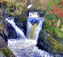Pecca Twin Falls, Ingleton, North Yorkshire - HDR by Colin  Williams Photography