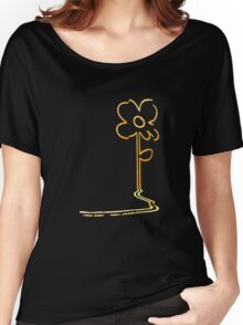 Banksy's wall flower Women's Relaxed Fit T-Shirt