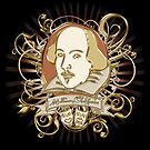 William Shakespeare Crest  by Sally McLean
