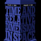 My type of TARDIS by renduh
