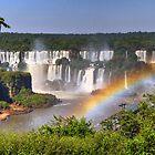 Iguassu Falls - First View by Peter Hammer