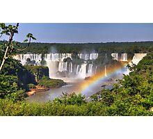 Iguassu Falls - First View Photographic Print