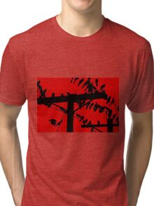 Birds On A Wire Tri-blend T-Shirt