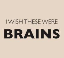 I Wish These Were Brains by Adam Grey