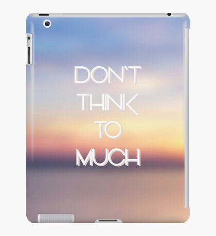 hipster background iPad Case/Skin