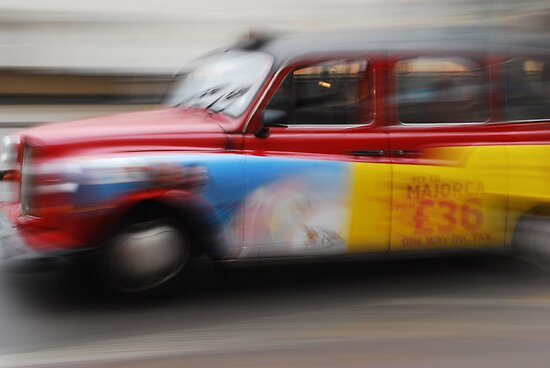 TAXI ( Blurred Series) by Sherion