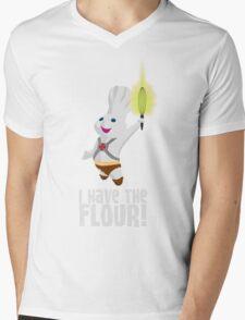 I HAVE THE FLOUR Mens V-Neck T-Shirt