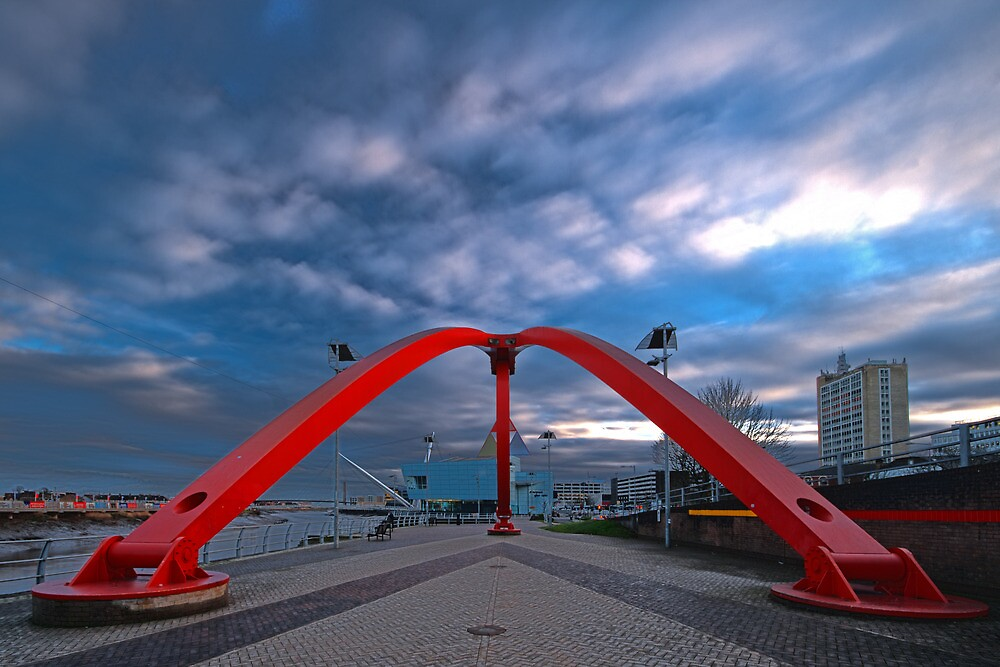 The Newport Wave, Newport, Gwent by Ciaran Sidwell
