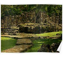 Mayan Ruins Poster