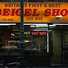Brick Lane Beigel Shop by Dita Rosted