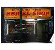 Brick Lane Beigel Shop Poster
