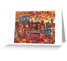 Lessons From Home I Greeting Card