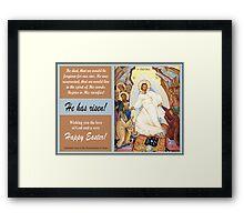 "Orthodox Icon of the ""Resurrection of Jesus"" Framed Print"