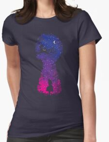 Wonderous World Womens Fitted T-Shirt