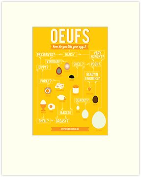 Oeufs by Stephen Wildish