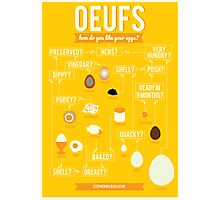 Oeufs Photographic Print