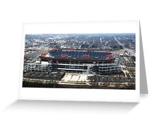 LP Stadium Nashville TN - From The Roof of VIRIDIAN 2012 Greeting Card