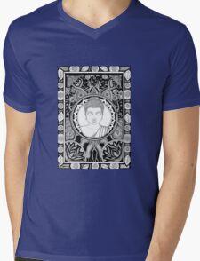Coota Art, Buddha Mens V-Neck T-Shirt