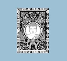 Coota Art, Buddha Womens Fitted T-Shirt