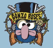 Gonzo Roses Baby Tee