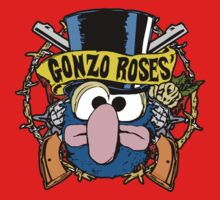 Gonzo Roses One Piece - Short Sleeve
