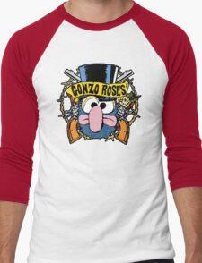 Gonzo Roses Men's Baseball ¾ T-Shirt