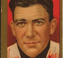 Benjamin K Edwards Collection Lawrence Doyle New York Giants baseball card portrait by wetdryvac