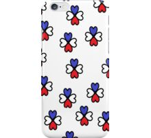 playful hearts iPhone Case/Skin