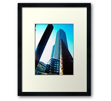 Angle-sized Framed Print