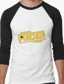 Rory punched first - Star Wars Doctor Who meshup Men's Baseball ¾ T-Shirt