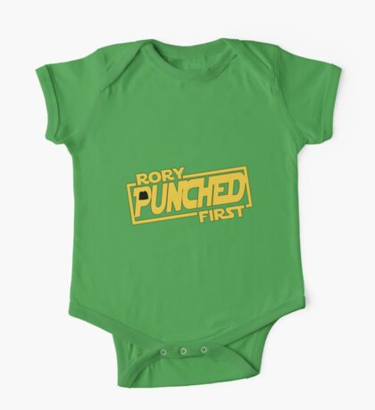 Rory punched first - Star Wars Doctor Who meshup One Piece - Short Sleeve