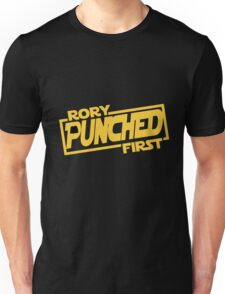 Rory punched first - Star Wars Doctor Who meshup Unisex T-Shirt