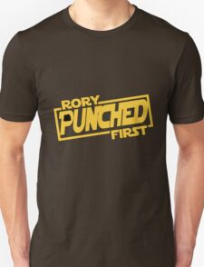 Rory punched first - Star Wars Doctor Who meshup T-Shirt