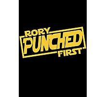 Rory punched first - Star Wars Doctor Who meshup Photographic Print