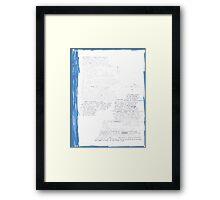 All The Way Forward Framed Print