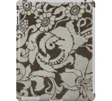 wall texture with pattern iPad Case/Skin