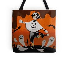Ghost party halloween Tote Bag