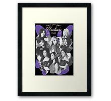 Girls' Generation (SNSD) 'PHANTASIA' Concert Framed Print