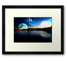 Distant Peace Framed Print